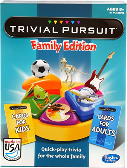 Hasbro Trivial Pursuit Family in United States
